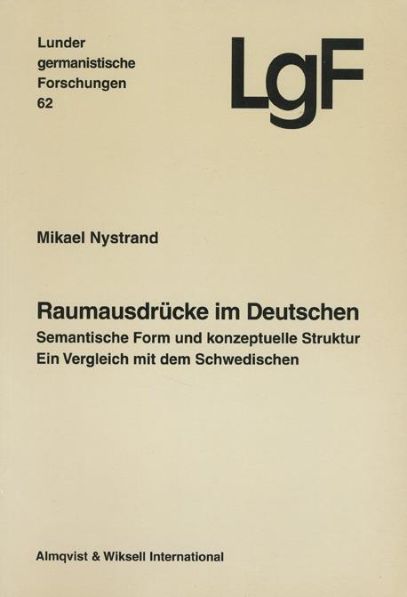 Raumausdrücke im Deutschen