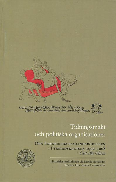 Tidningsmakt och politiska organisationer