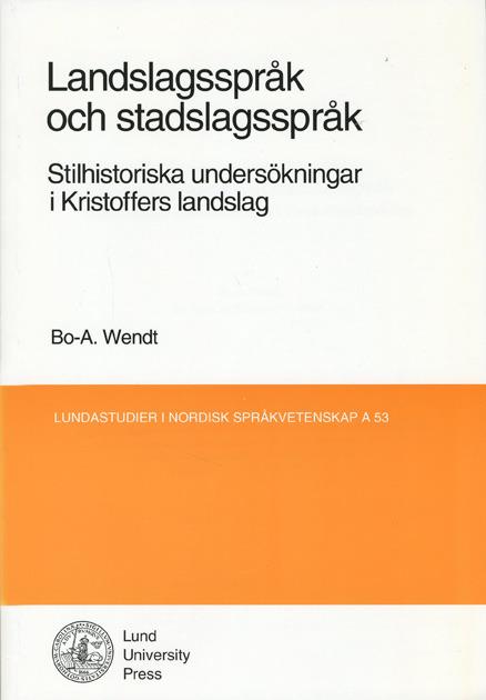 Landslagsspråk och stadslagsspråk