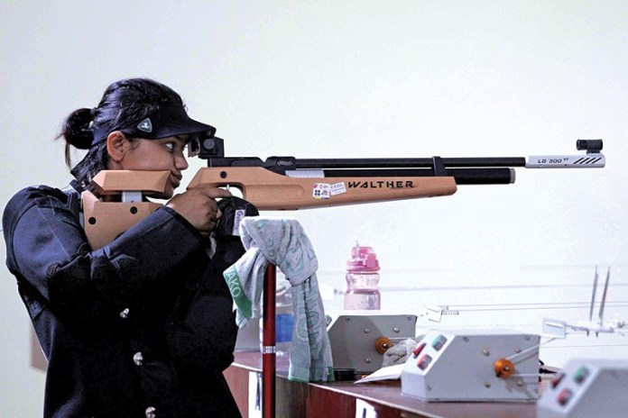 Eighth National Games, shooting