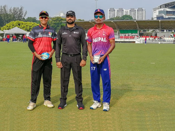 Nepal Vs Singapore - ICC U19 Cricket World Cup Qualifier Asia 2019