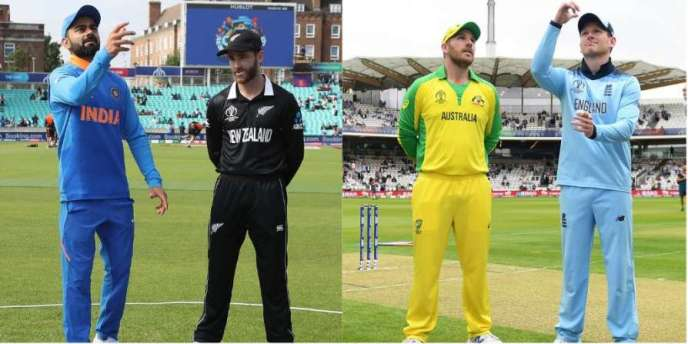 Cricket World Cup 2019: India vs New Zealand, Australia vs England in semis
