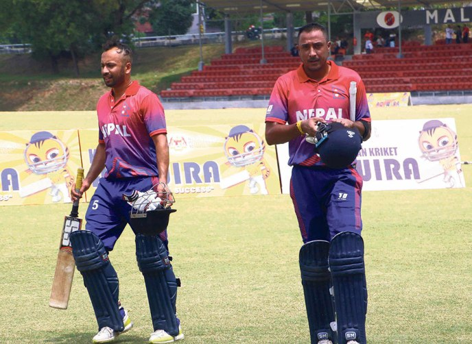 Nepal T20I Series With Malaysia