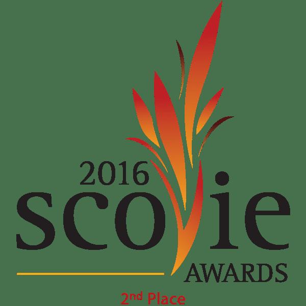 2nd Place 2016 Scovie Logo