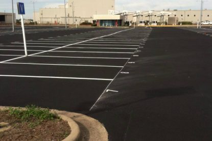 Asphalt Paving Parking