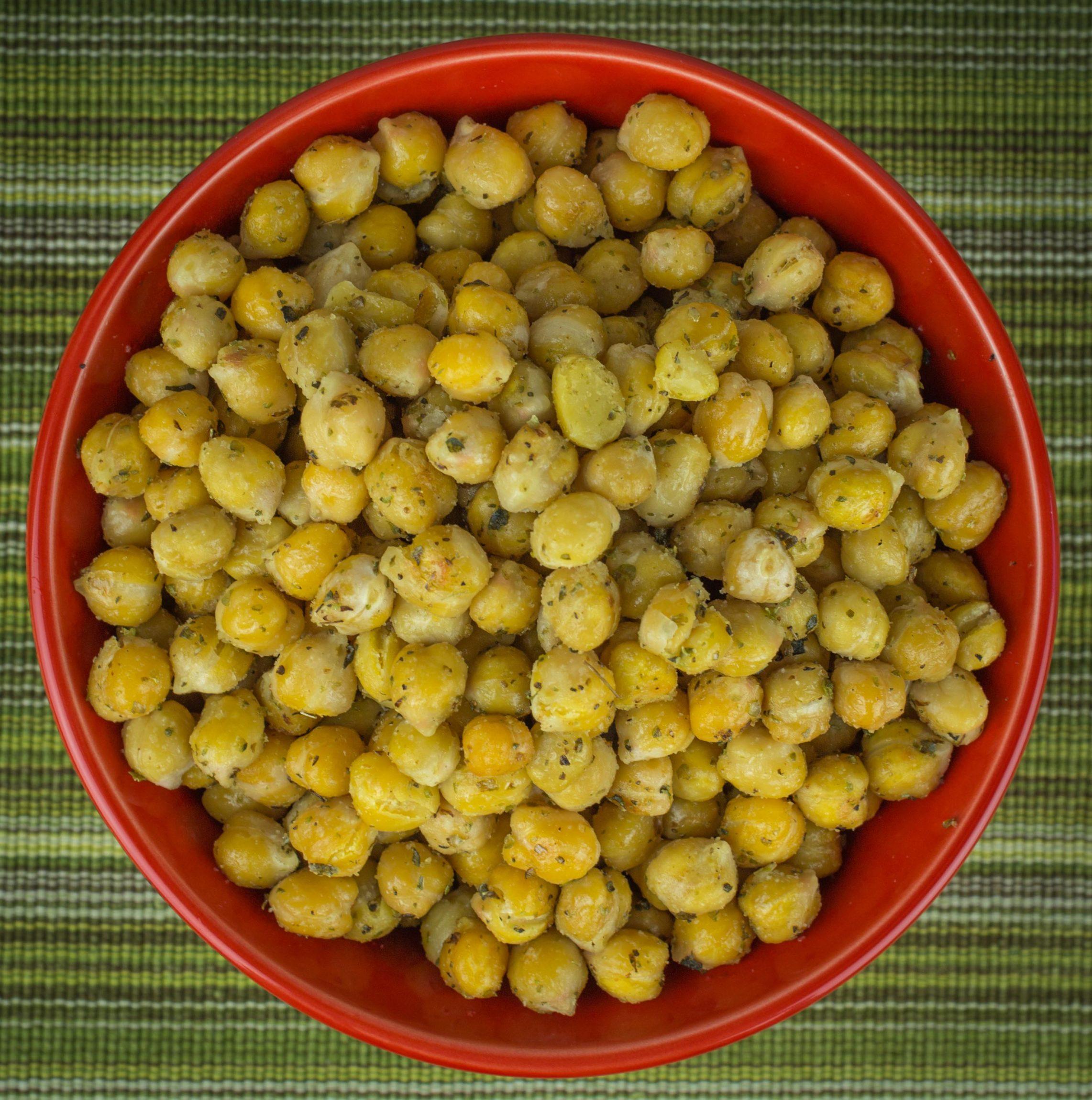 Herb Roasted Garbanzo Bean
