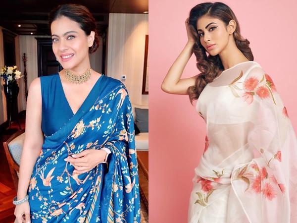 Bollywood Divas In Floral Sarees