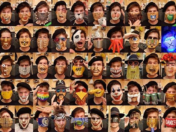 Masks Designed by Artists
