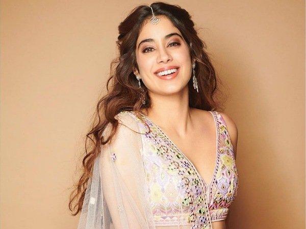 Janhvi Kapoor In A Floral Lehenga