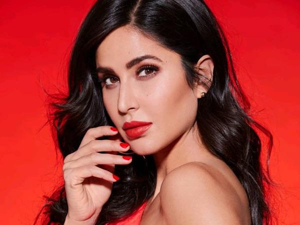 Katrina Kaif Sizzles In A Red Lehenga