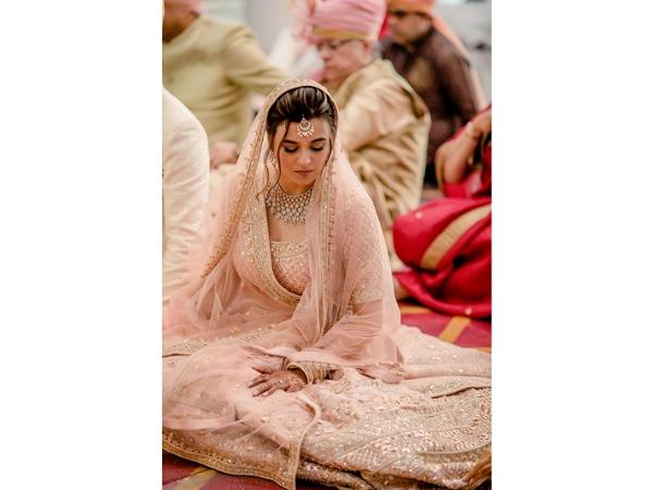 Saniya Shadadpuri's Wedding Outfit