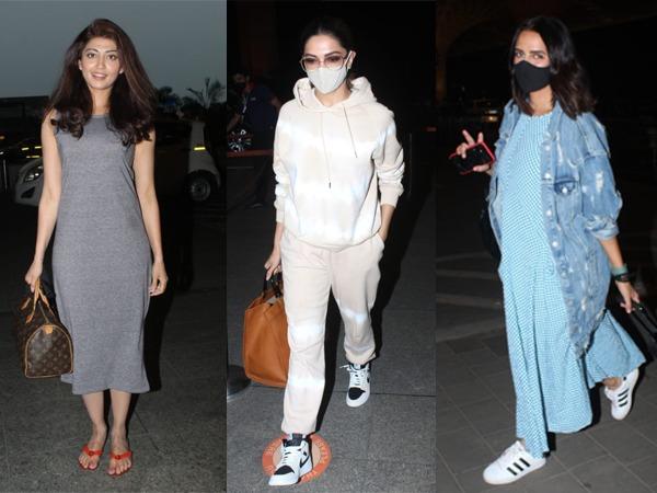 Celebs Airport Fashion
