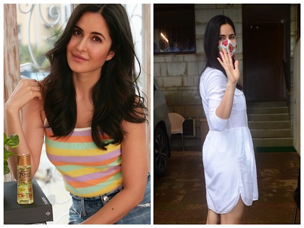 Girlistan - Katrina Kaif In Two Summer Outfits On Instagram