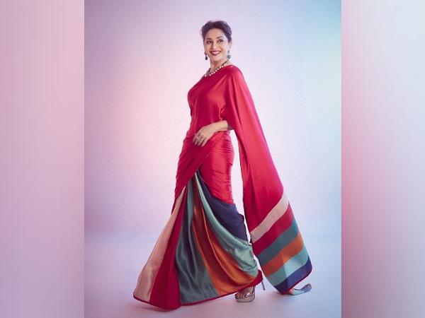 Madhuri Dixit's Red Saree And It's Price