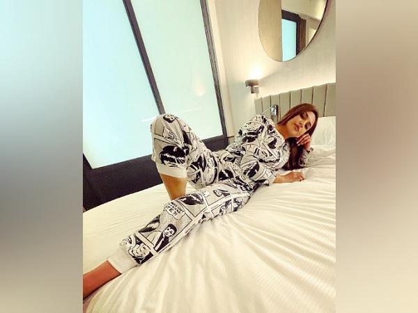 Divyanka Tripathi's Cool Printed Outfit