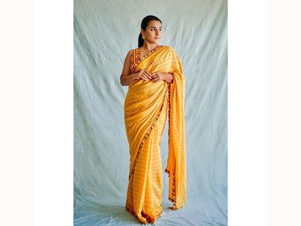 Vidya Balan's Yellow Saree & It's Price