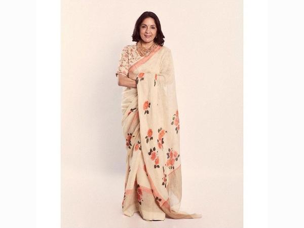 Neena Gupta Saree Looks
