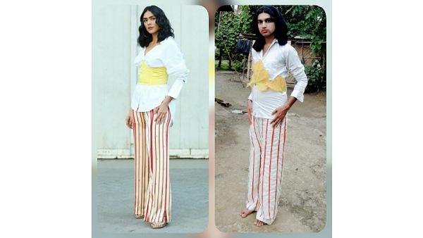 Neel Ranaut Mrunal Thakur Outfit