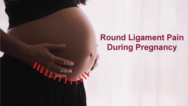 गर्भावस्था के दौरान गोल लिगामेंट दर्द
