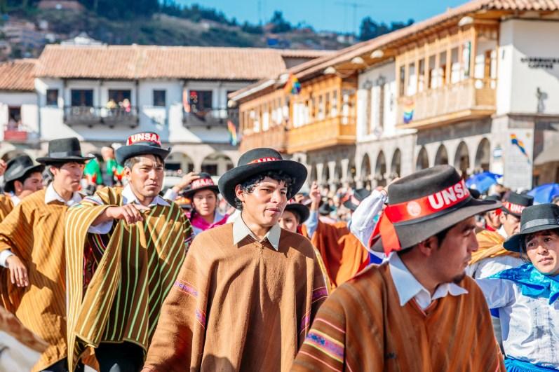 Cusco Inti Raymi Festival -14- June 2015