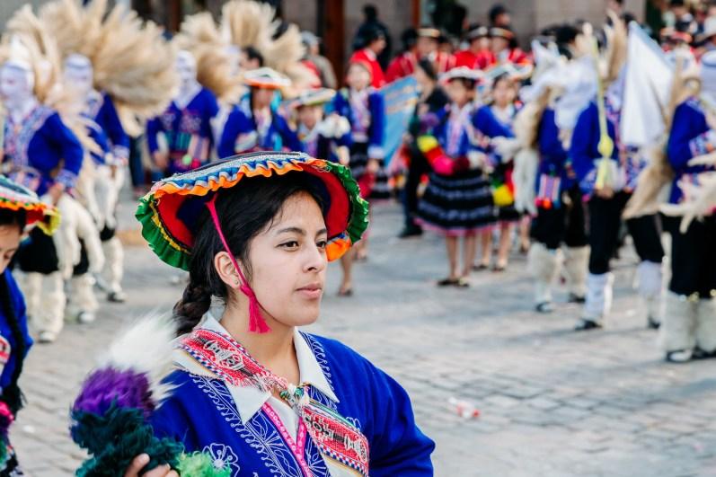 Cusco Inti Raymi Festival -21- June 2015