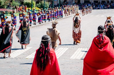 Inti Raymi Festivial In Cusco -18- June 2015