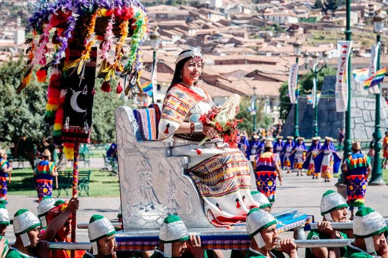 Inti Raymi Festivial In Cusco -22- June 2015