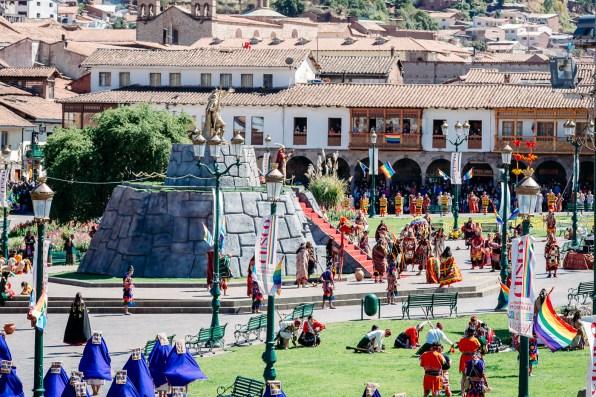 Inti Raymi Festivial In Cusco -31- June 2015