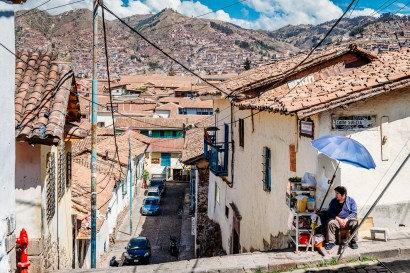 Cusco Peru -60- July 2015