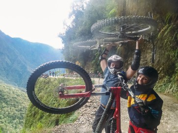 Death Road Biking Bolivia -25- July 2015