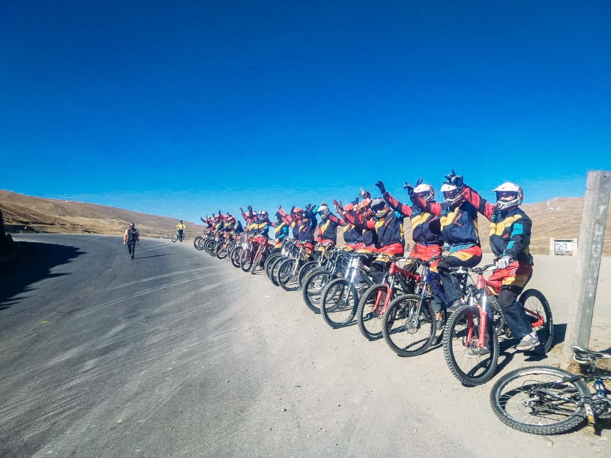 Death Road Biking Bolivia -8- July 2015