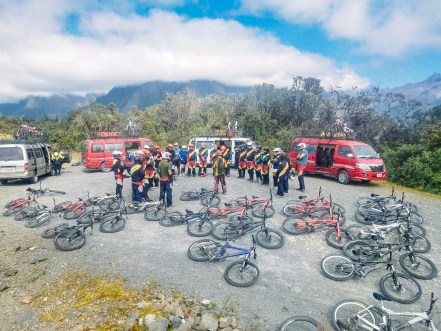 Death Road Mountain Biking Bolivia -5- July 2015