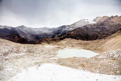 Huayna Potosi Mountain Bolivia -18- July 2015