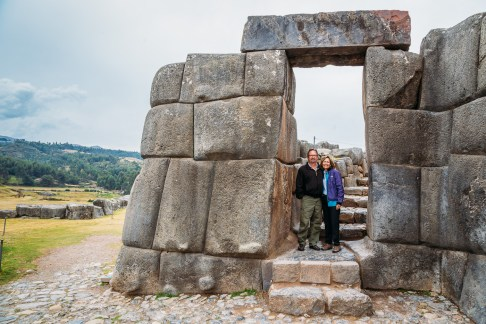 Saksaywaman Cusco Peru -10- July 2015