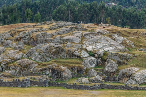 Saksaywaman Cusco Peru -11- July 2015