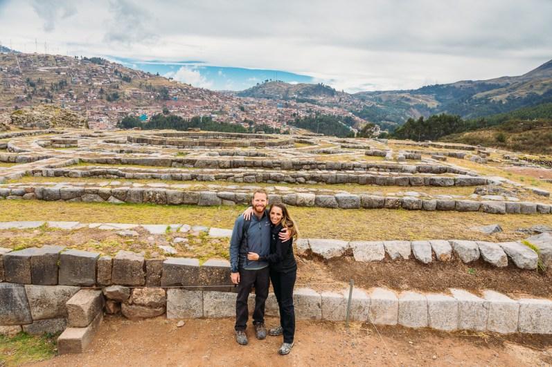 Saksaywaman Cusco Peru -16- July 2015