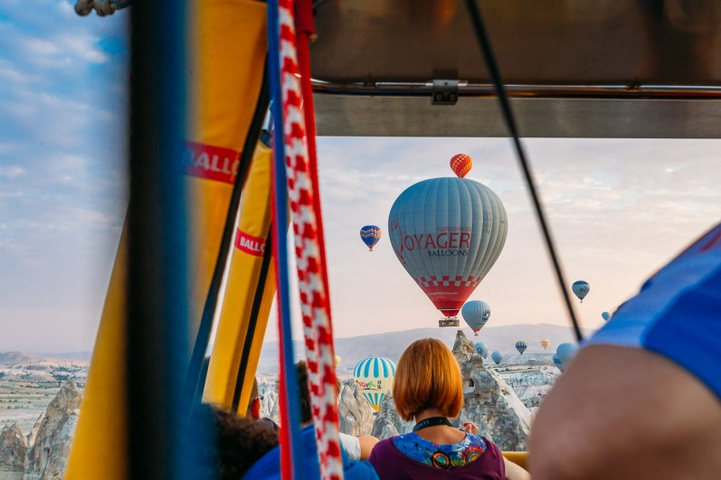 Cappadocia Hot Air Ballooning Photos -52