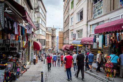 Galata Tower neighborhood