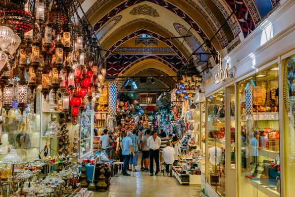 Getting lost in the maze of Istanbul's Grand Bazaar