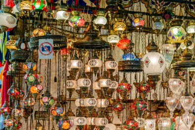Grand Bazaar - No photography allowed so naturally we had to take a photo