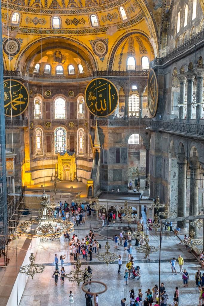 Hagia Sophia from the second floor