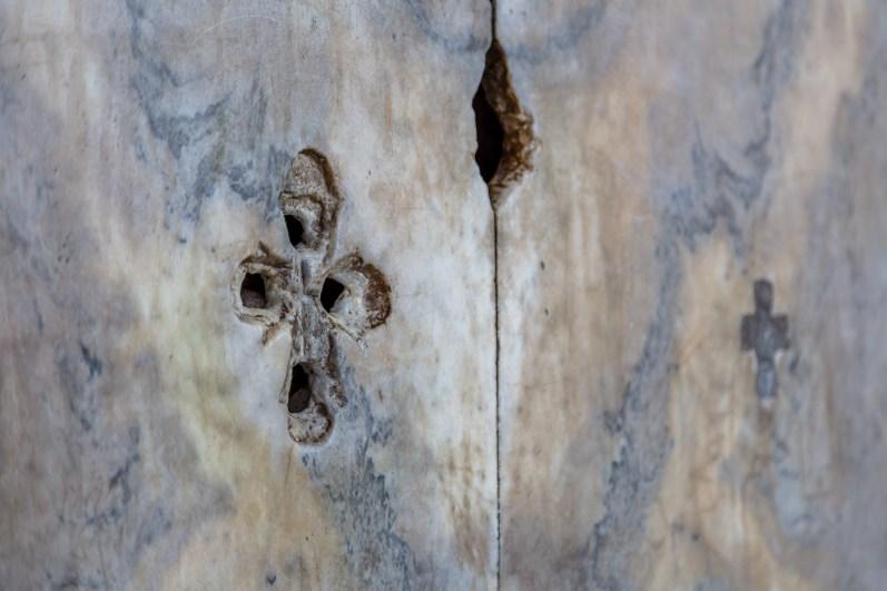 Hagia Sophia remnants of Christianity