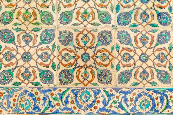 The tiles of Topkapi Palace