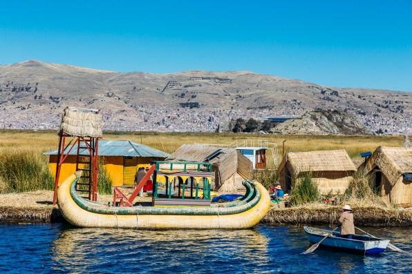 Uros Floating Reed Islands - Peru -9- July 2015