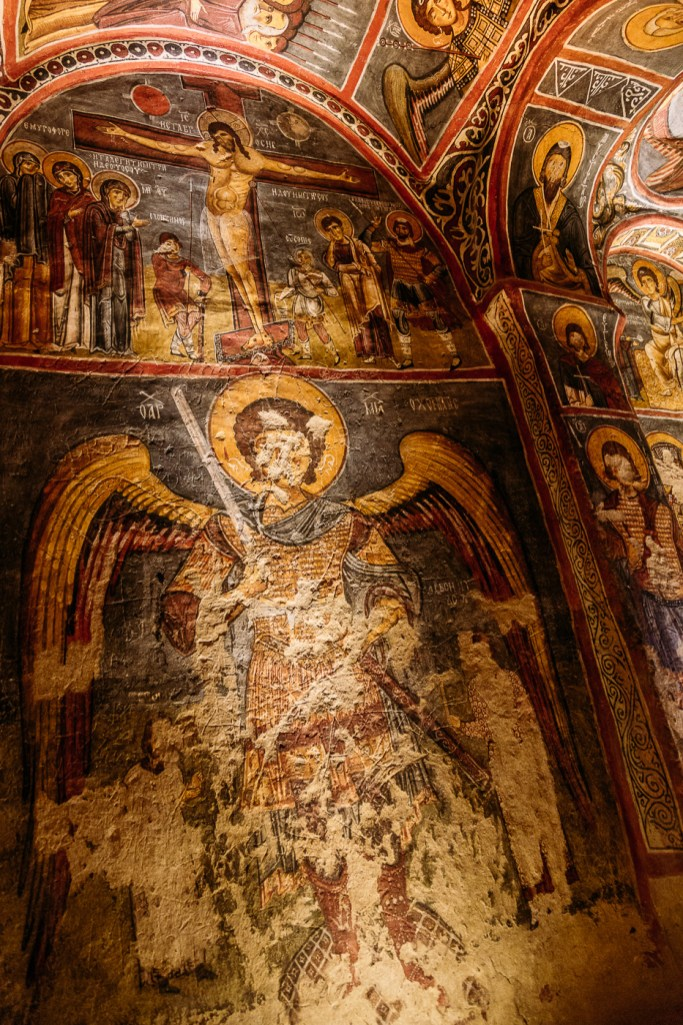 Frescos of the Goreme Open Air Museum