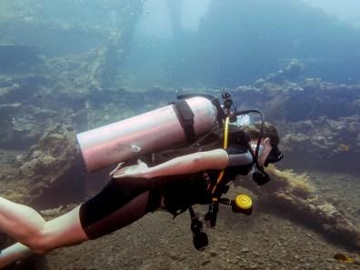 Exploring the USAT Liberty Wreck Tulamben, Bali