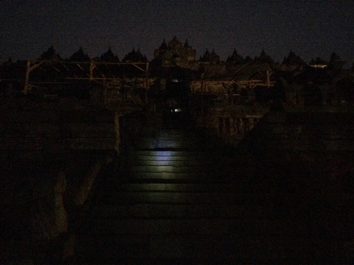 Paying to see Borobudur pre-sunrise via Manohara Hotel