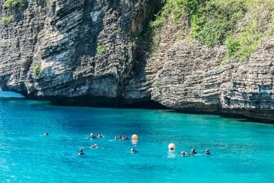 Snorkeling at Koh Haa - Koh Lanta Diving