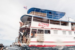 Wicked Diving's MV Mariner led by Captain P Wit