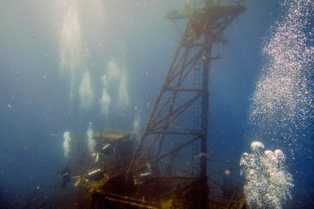 Diving Koh Kood - HTMS Chang Shipwreck -30